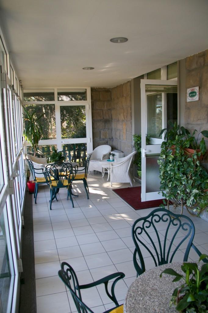 veranda, villa ilenia, casa di riposo, monterenzio, bologna